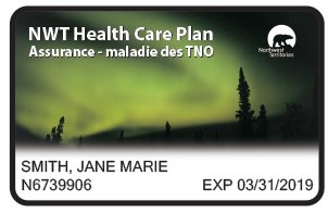NWT Northern Lights Health Care Card
