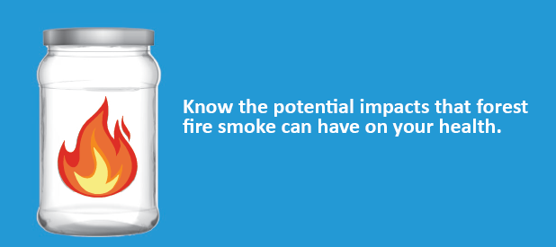 Health Effects of Smoke Exposure due to Forest Fires