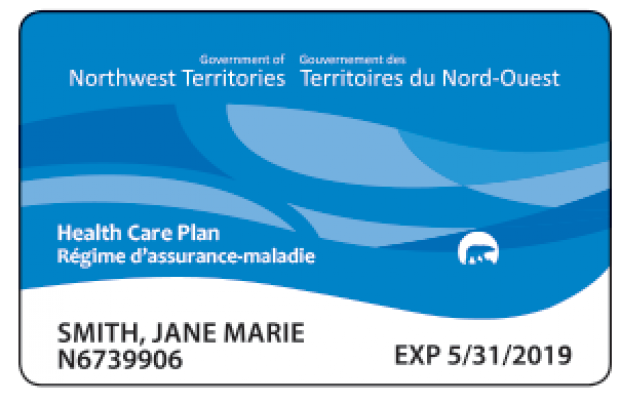 NWT Blue Health Care Card