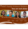 Family Violence Shelters Poster
